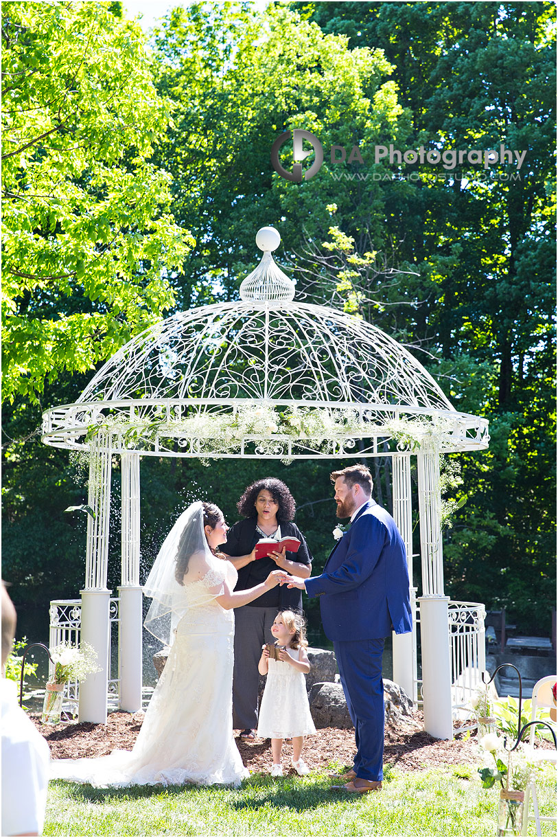 Wedding Ceremonies at The Falls Inn and Spa