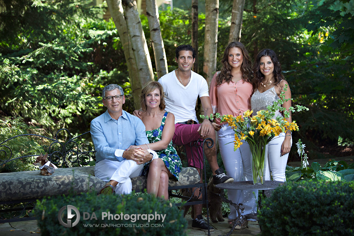 Garden Summer Family Photos