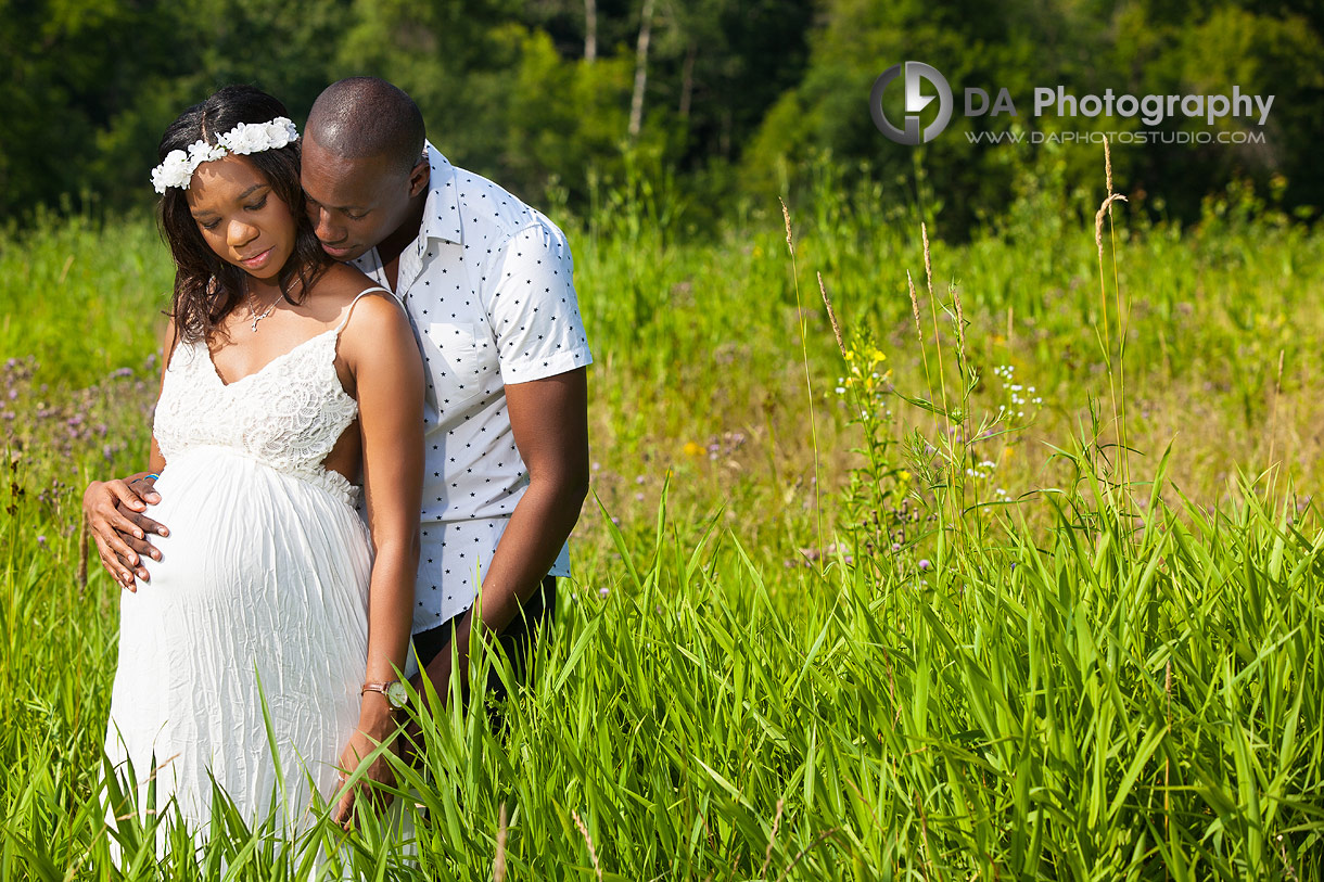 Maternity photo session at Terrace on the Green