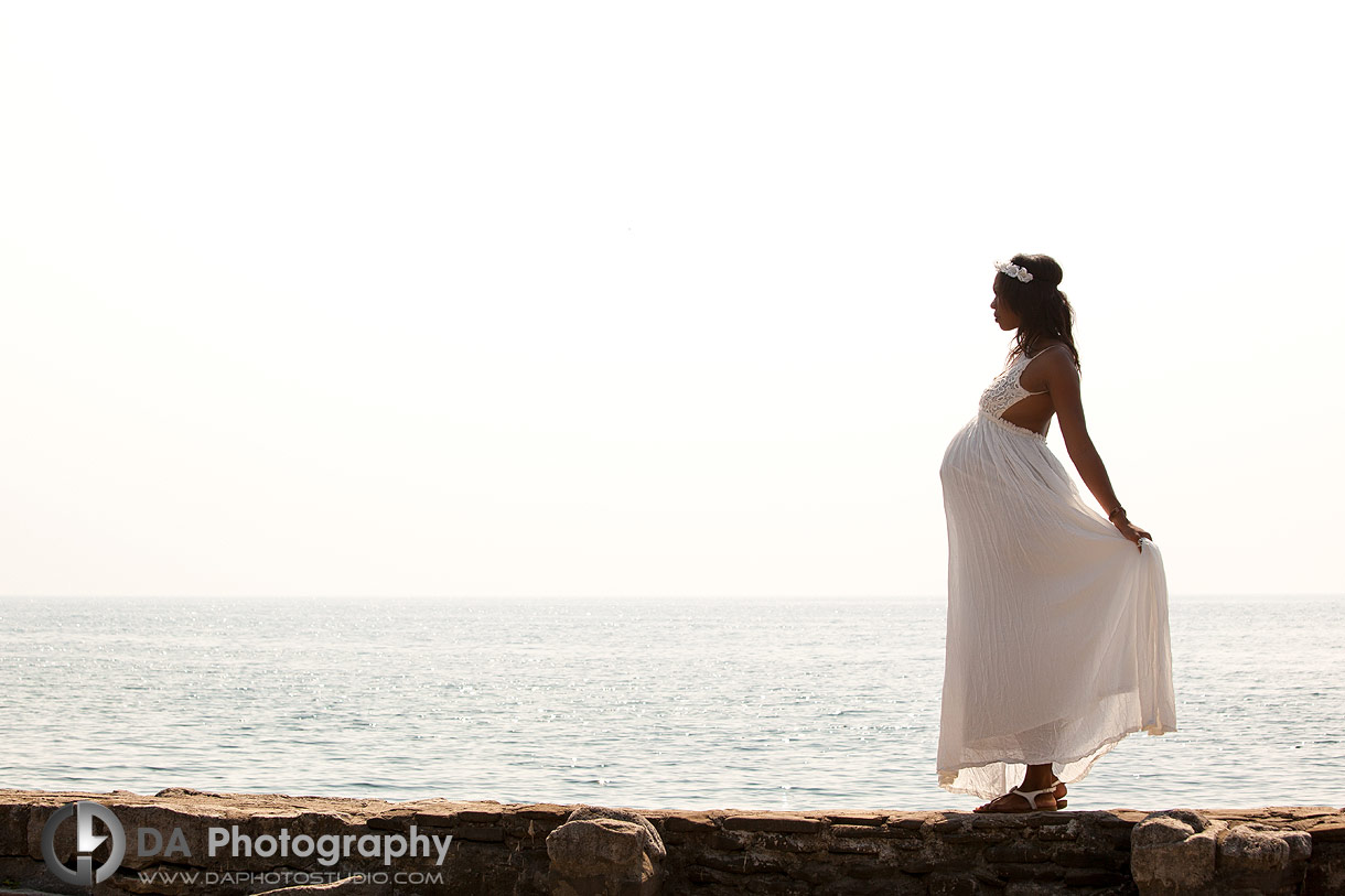 Maternity photo session at Gairloch Gardens