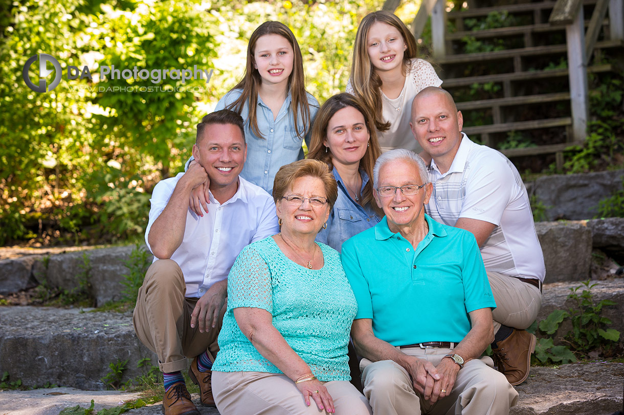 Family Session at Heart Lake Conservation Area