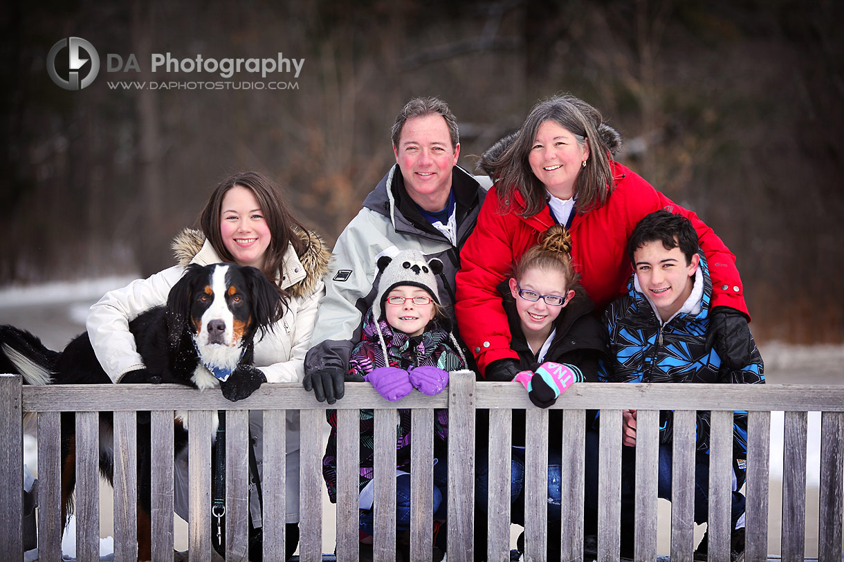 Riverwood Conservancy Winter Family Session
