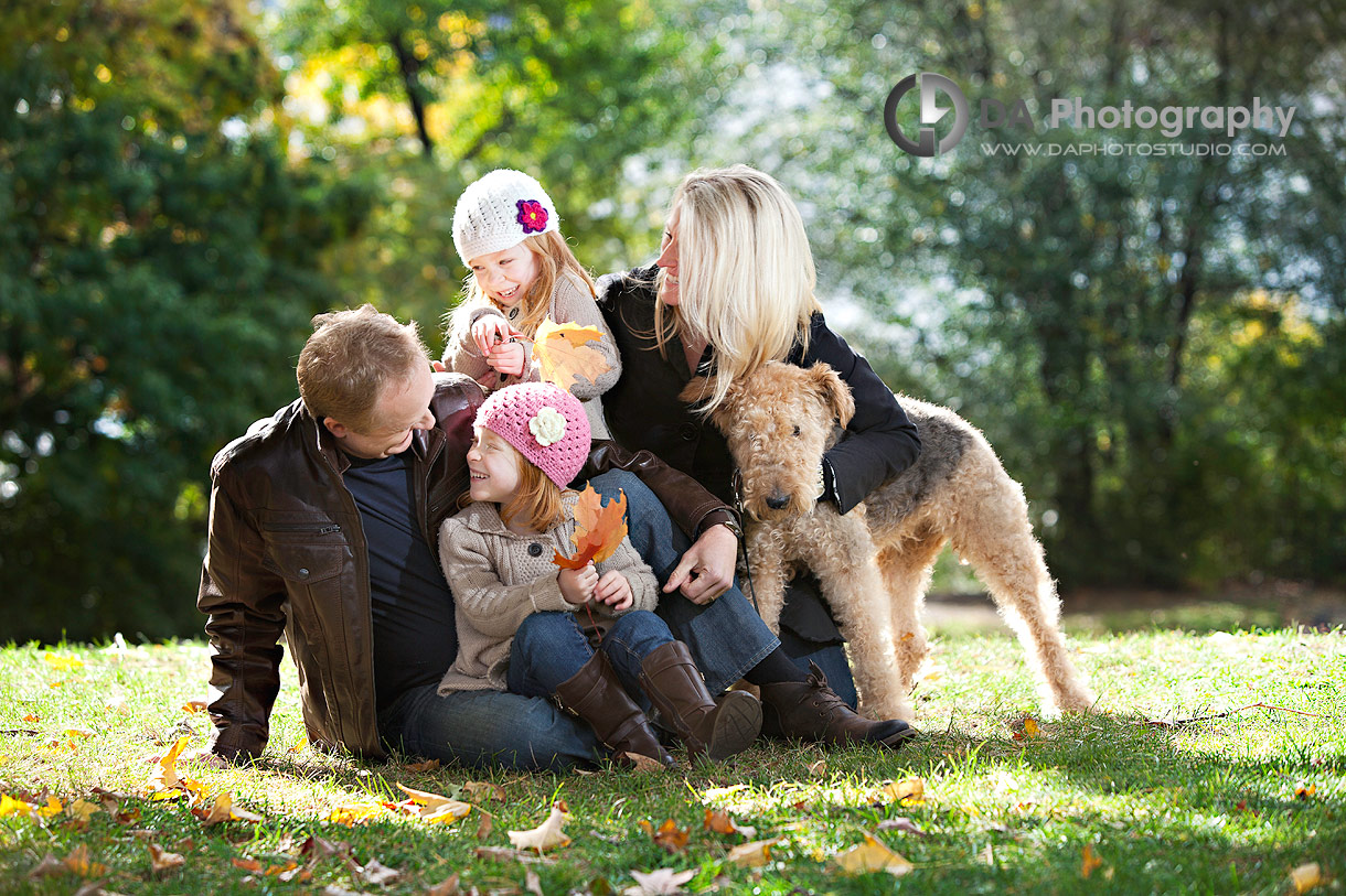 LaSalle Family Session with dog