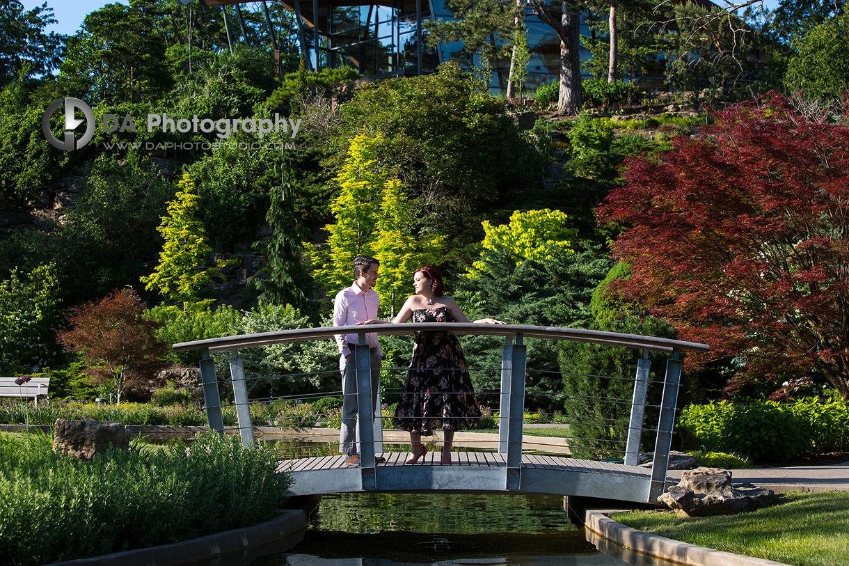 Royal Botanical Gardens Engagement Photography