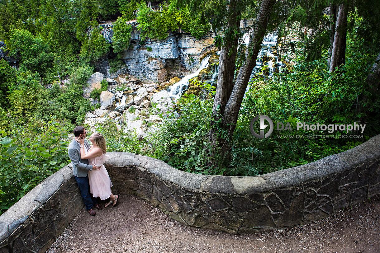 Waterfalls Engagement Photography