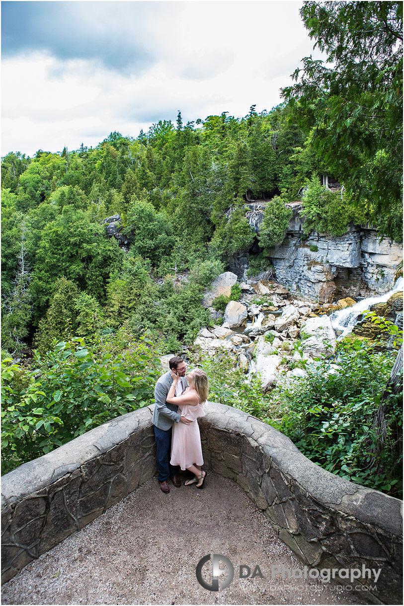 Waterfalls Engagement Photos
