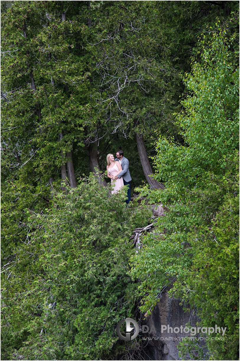 Top Photographer for Inglis Falls engagement