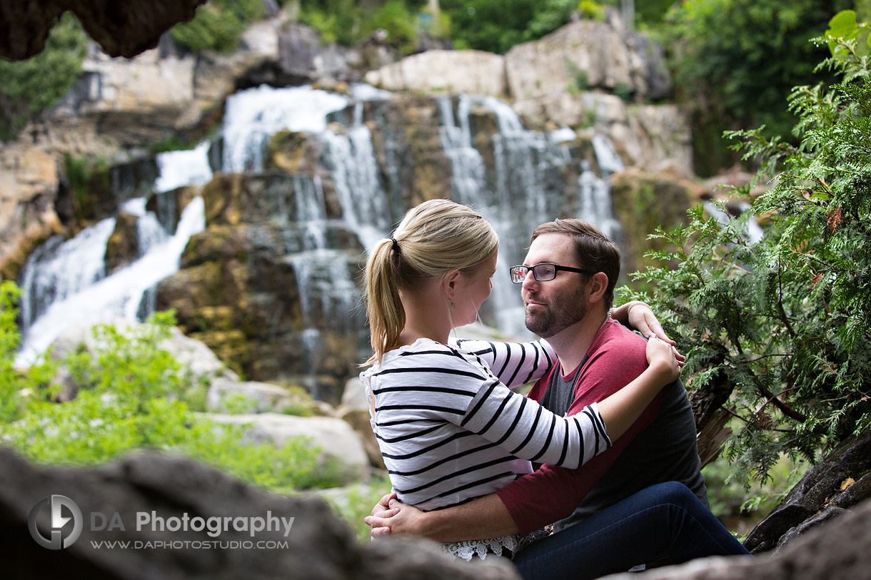 Couples Session at Inglis Falls
