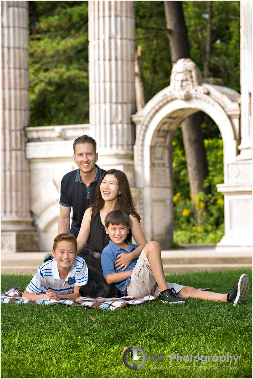 Family Photos at Guild Inn Estate