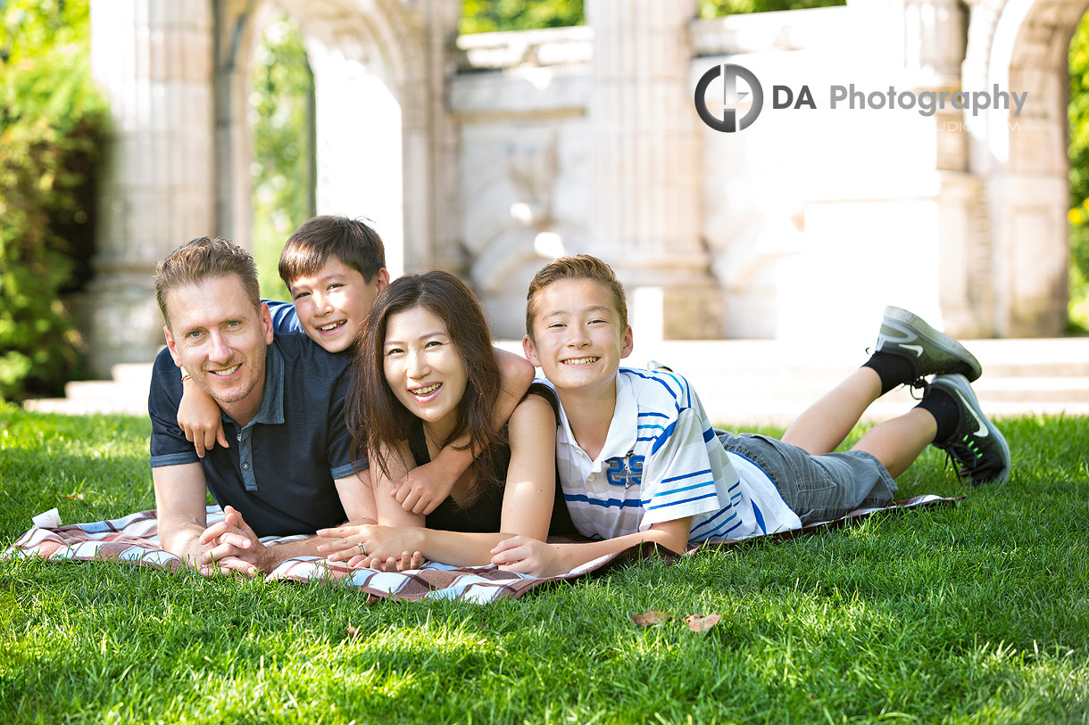 Casual Family Portraits at The Guild Inn Estate