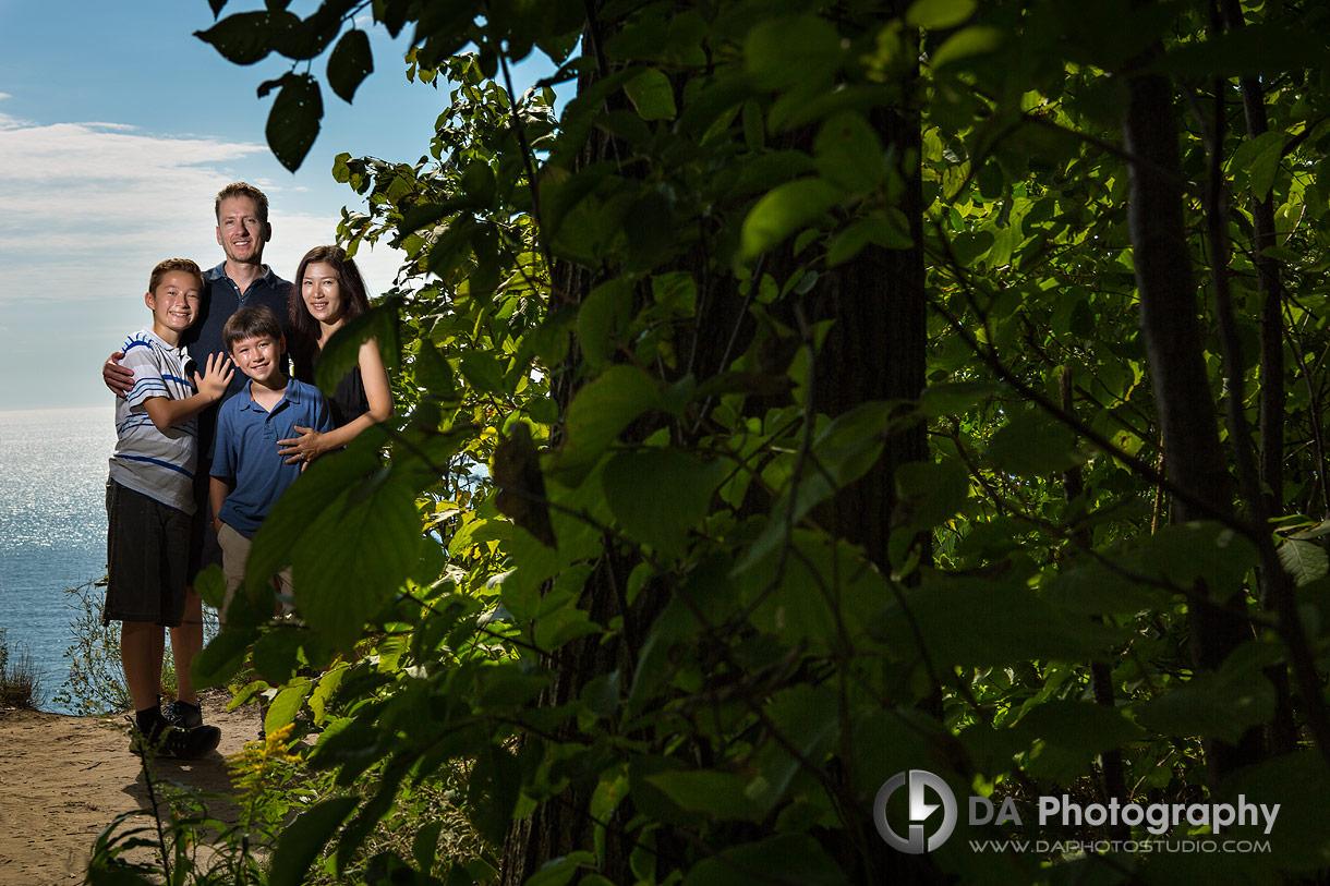 Scarborough bluffs Family Photo