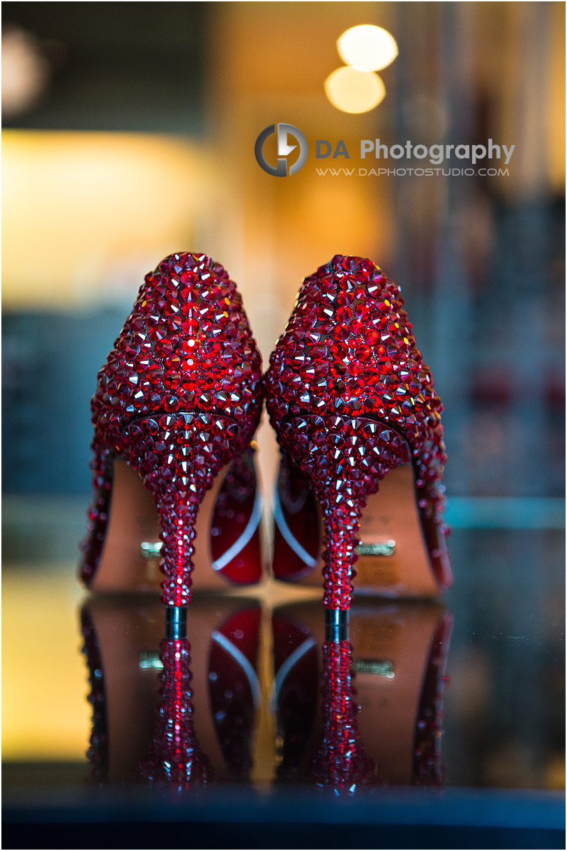 Wedding Shoes at Hockley Valley