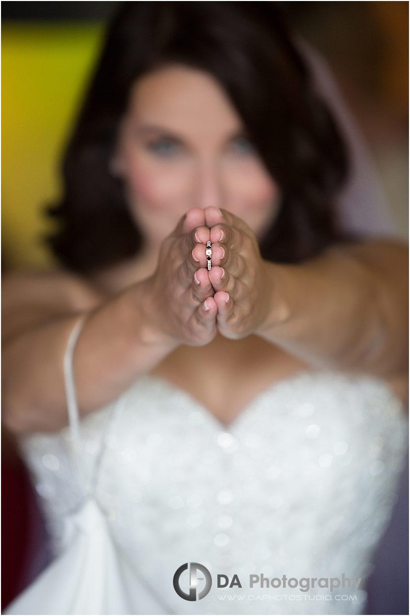 Bride at Hockley Valley