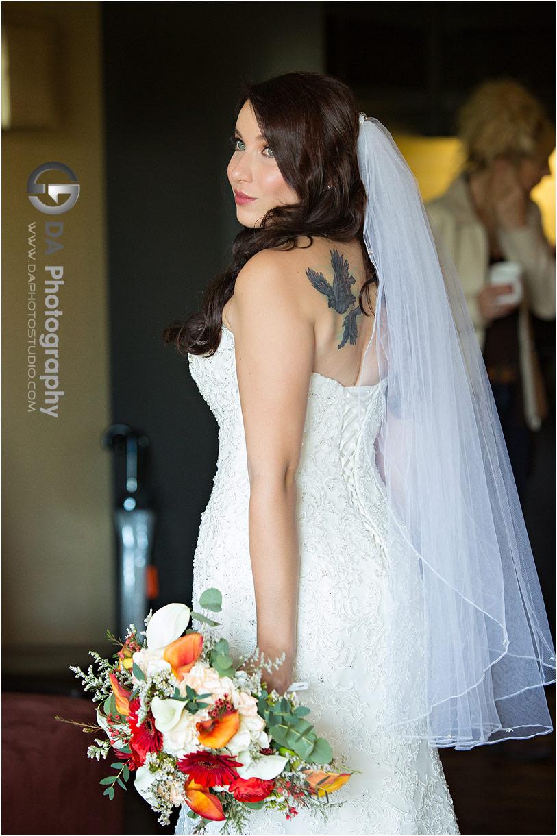 Bride at Hockley Valley in Orangeville
