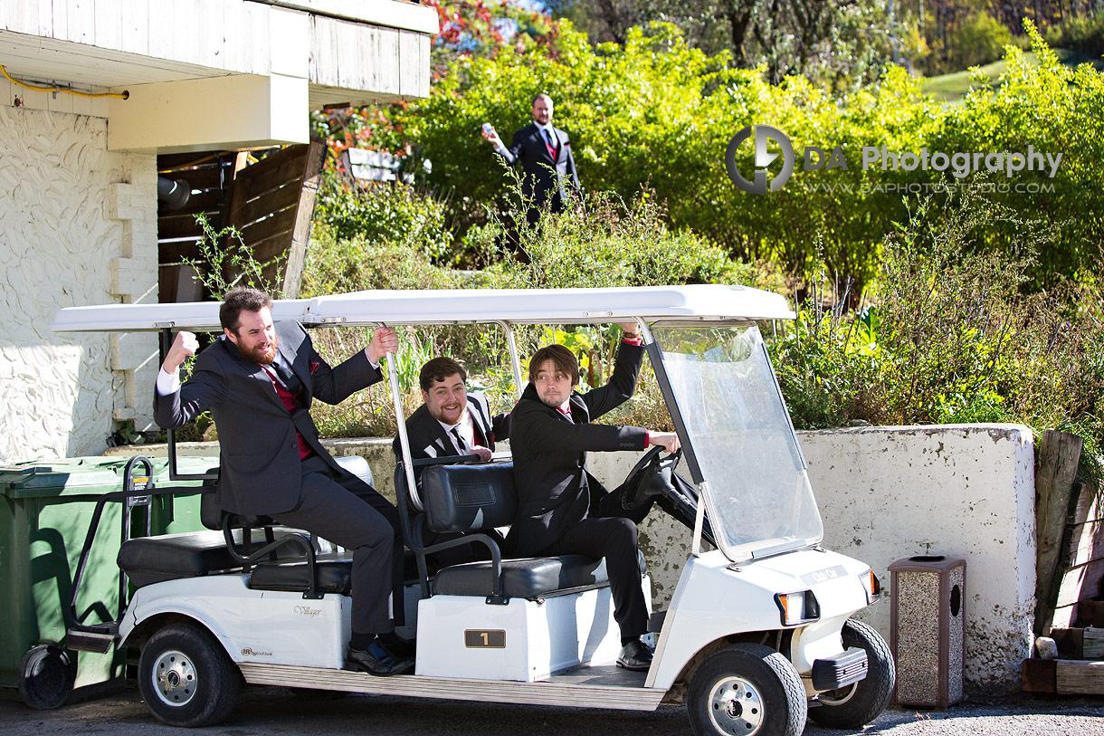 Fun Wedding Photos at Hockley Valley