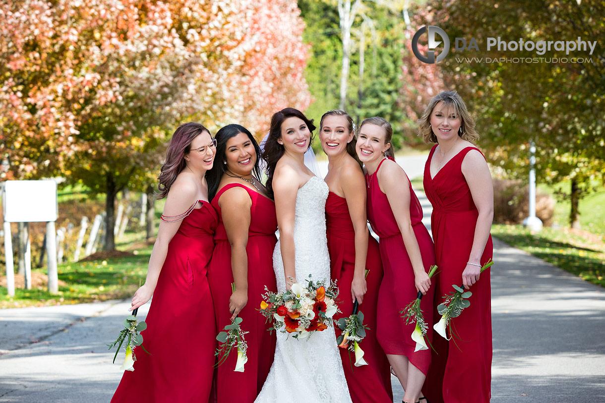 Bridesmaid Dresses at Hockley Valley