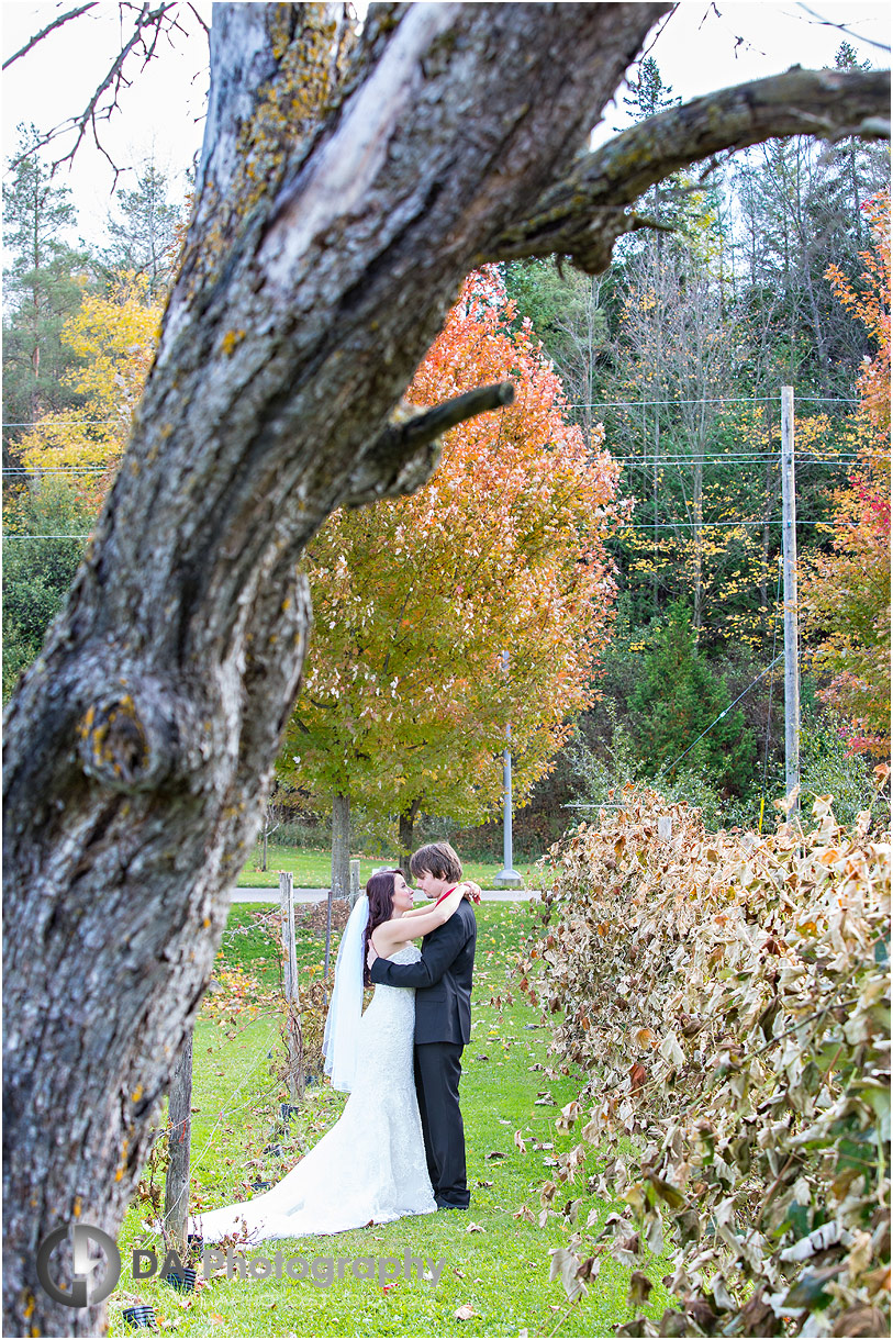 Bride and Groom at Hockley Valley