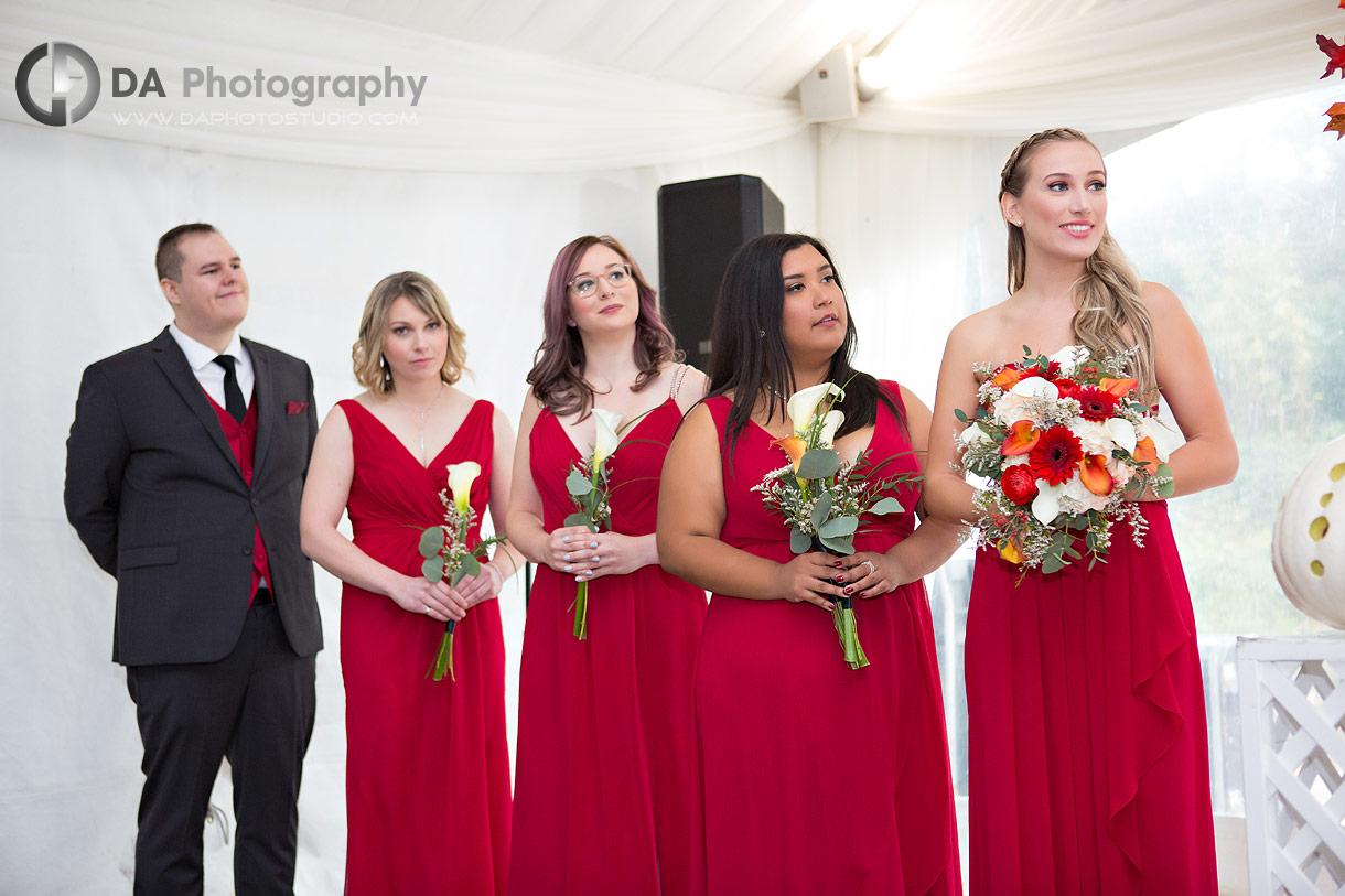 Wedding Ceremony at Hockley Valley in Orangeville