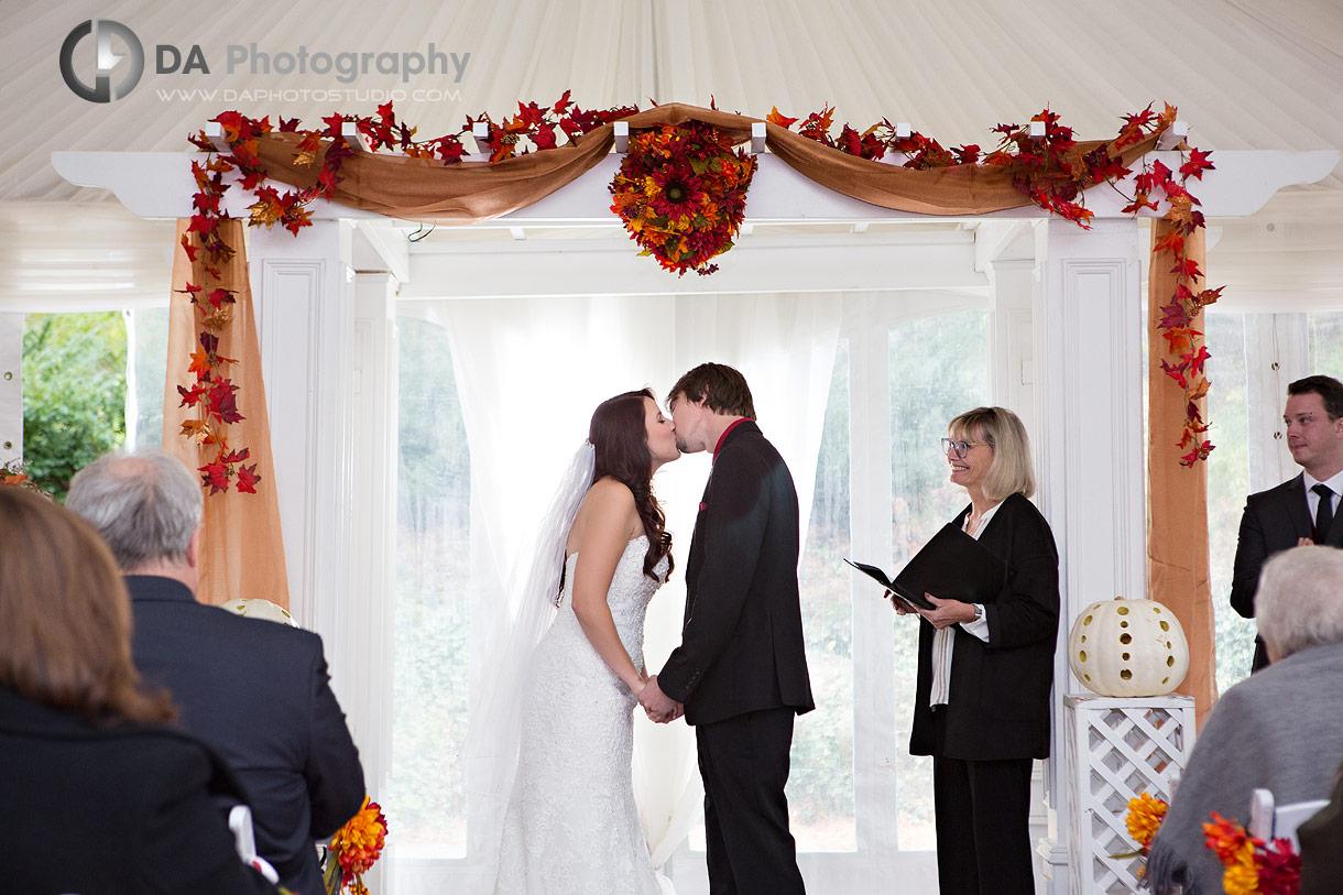 Wedding Ceremonies at Hockley Valley in Orangeville
