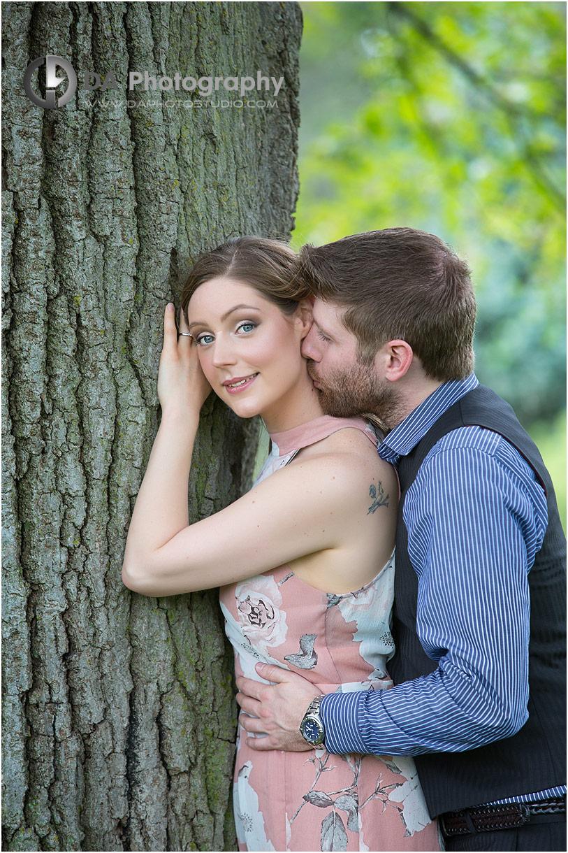 Royal Botanical Gardens engagement photo