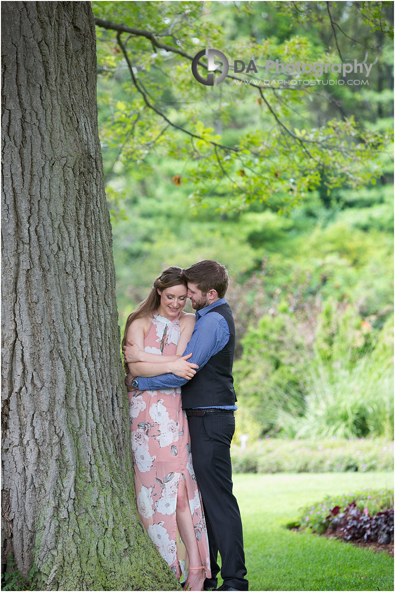 Royal Botanical Gardens engagement in Burlington