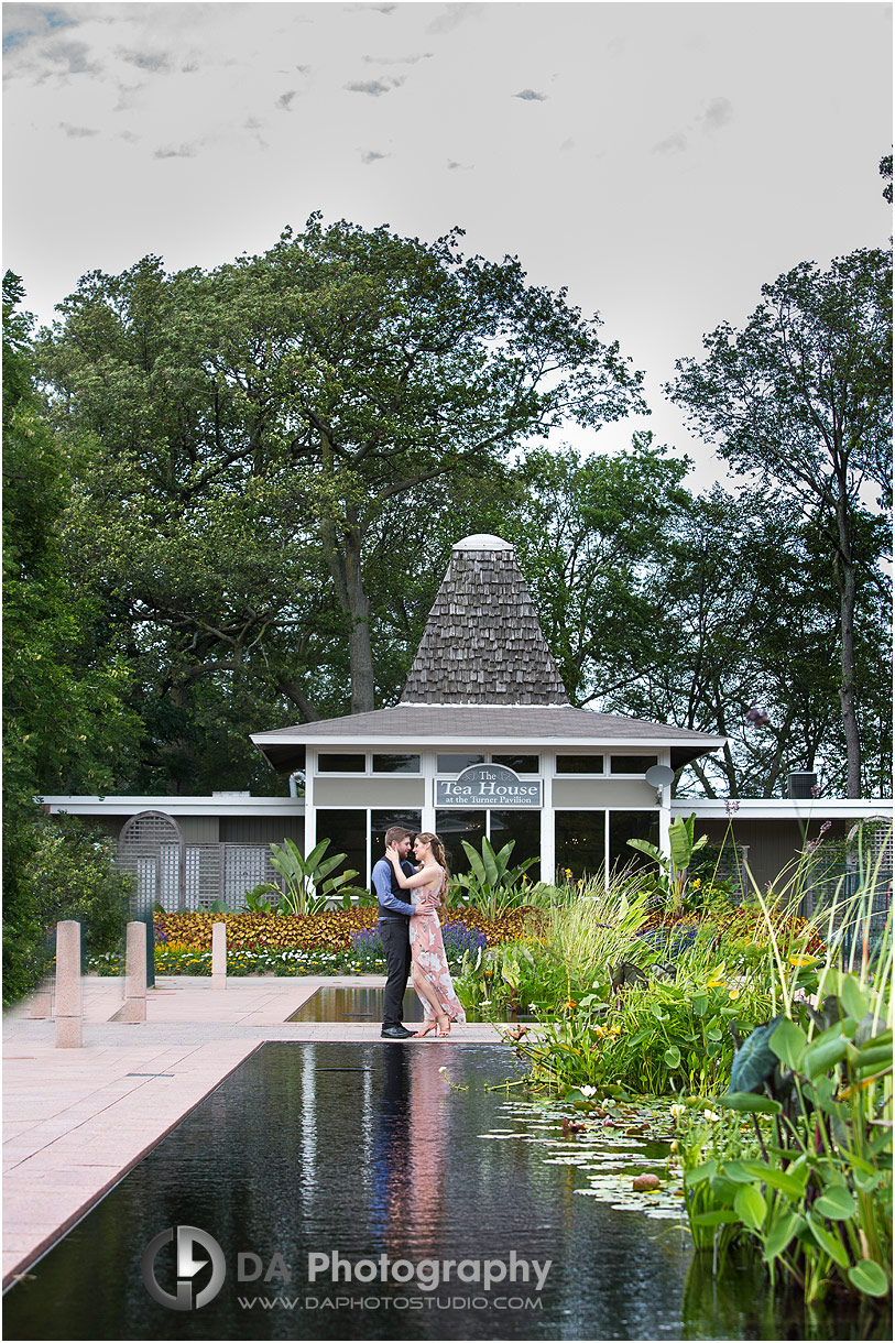 Royal Botanical Gardens engagement at Hendrie Park