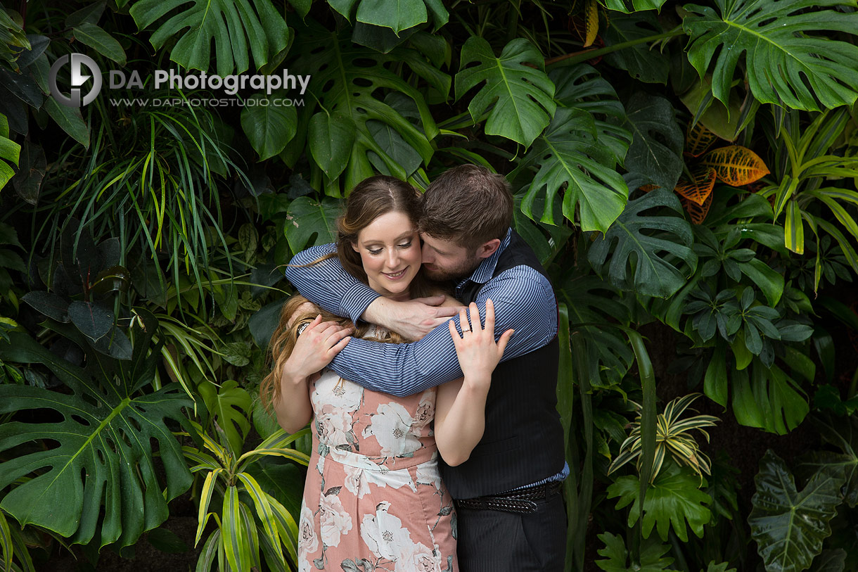 Engagement Photos at Royal Botanical Gardens