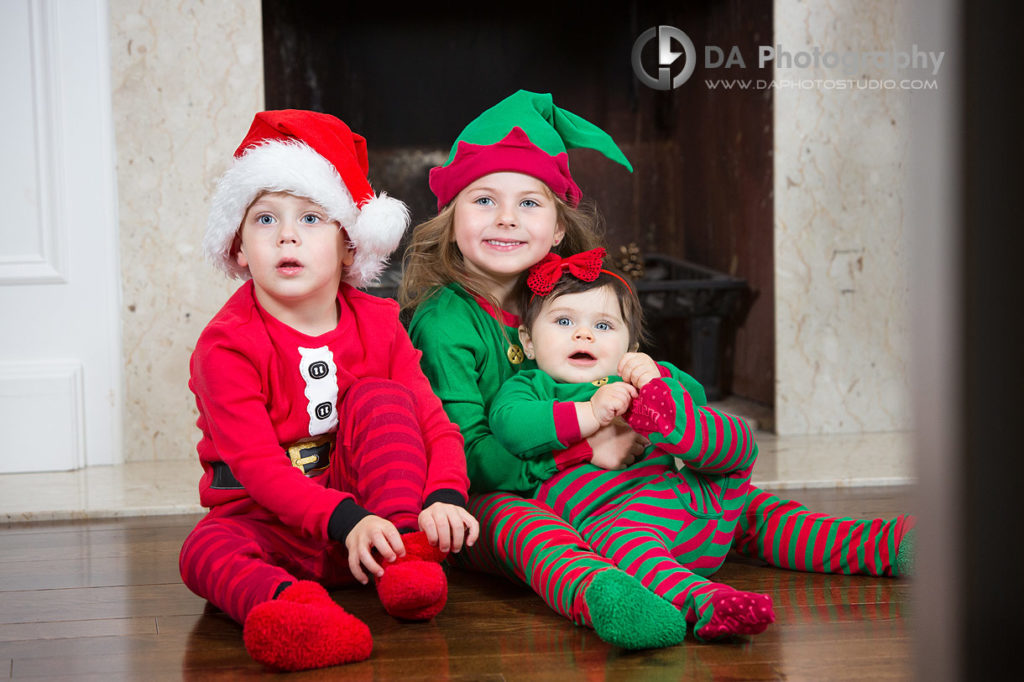 Family holiday photos in Oakville