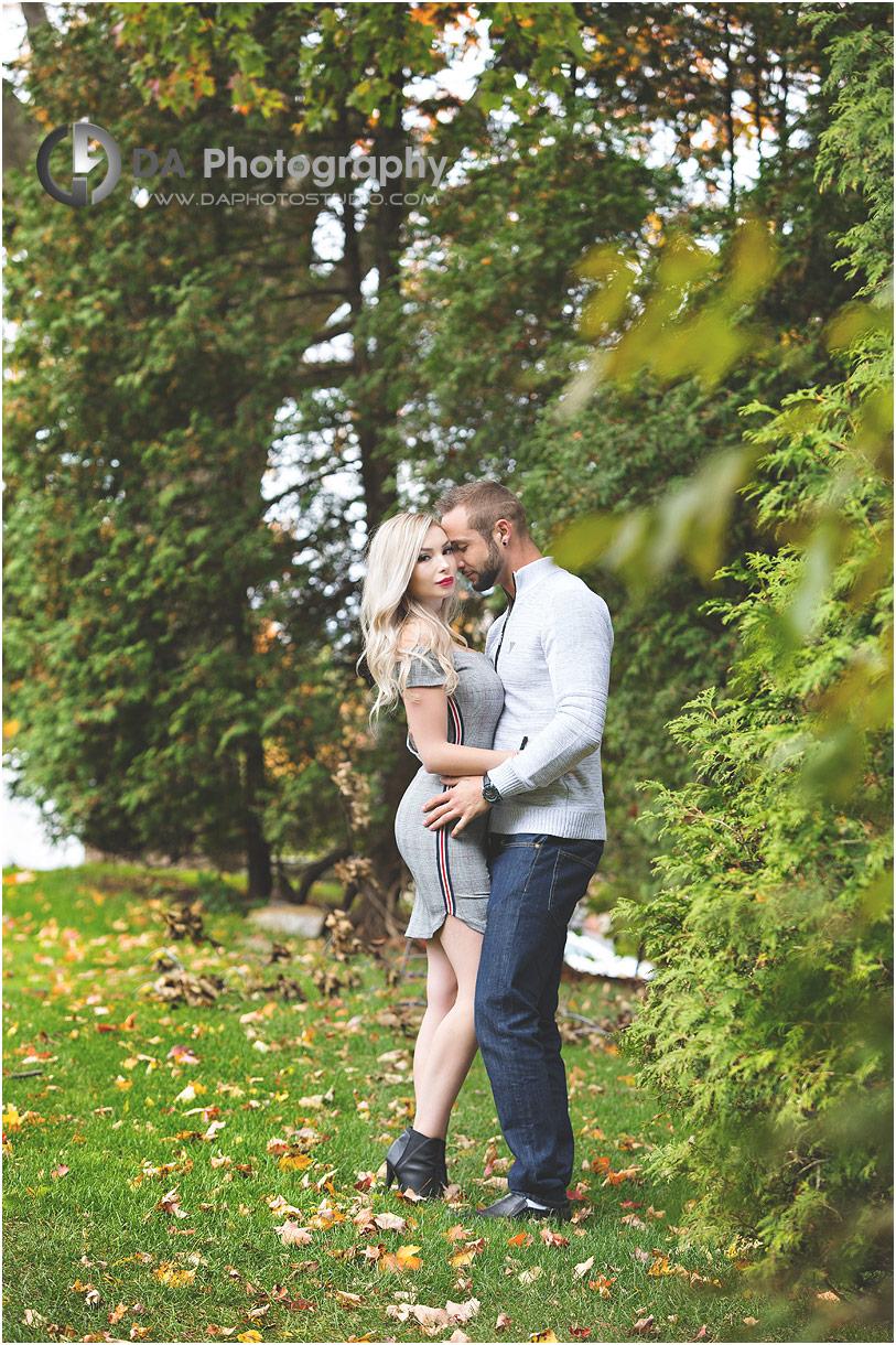 Fall Engagement photos in Burlington