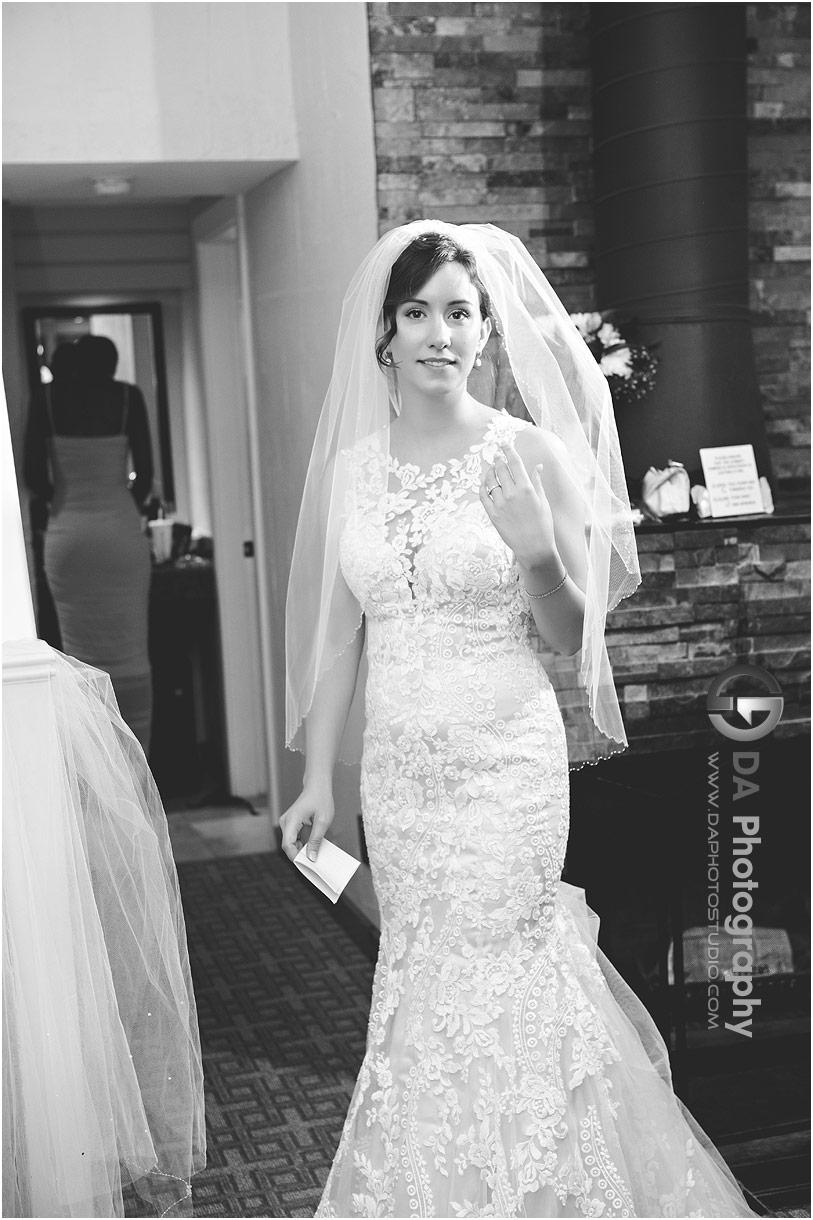 Bride at Millcroft Inn