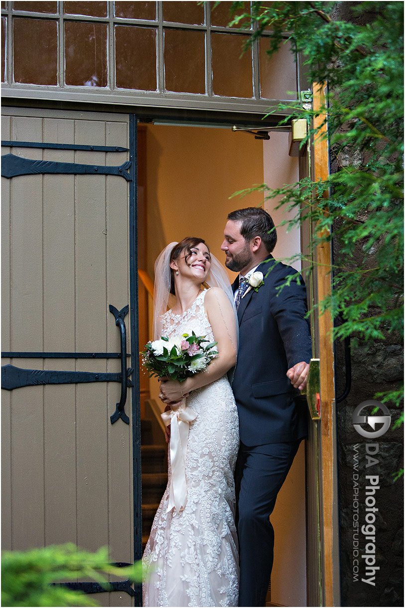 Bride and Groom in Alton