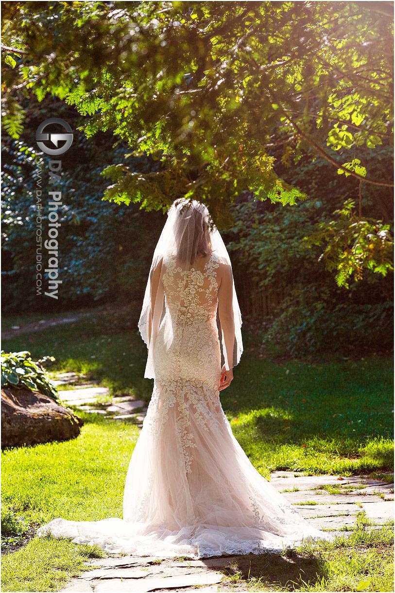 Wedding Dress at Millcroft Inn in Alton