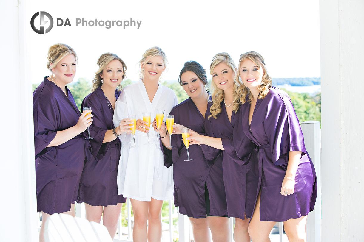 Bridesmaids at JW Marriott