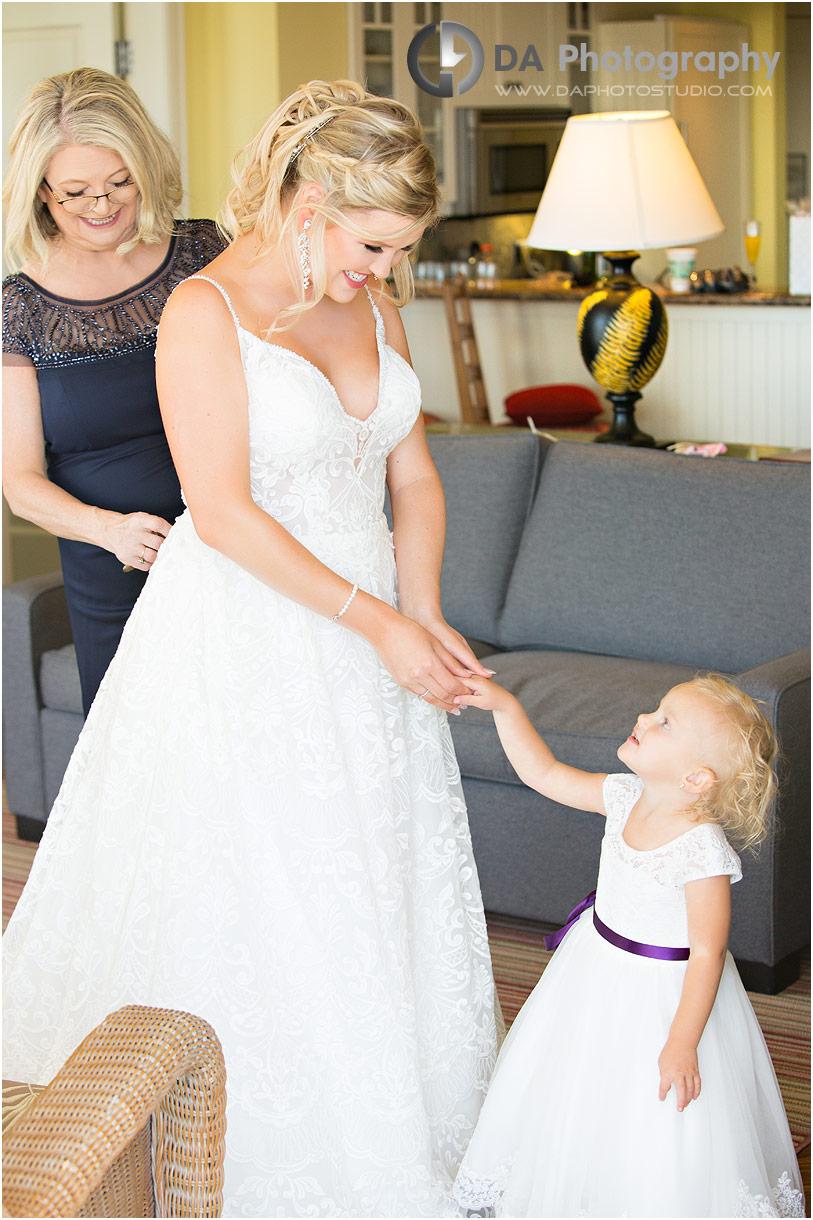 Wedding Photo at JW Marriott in Muskoka