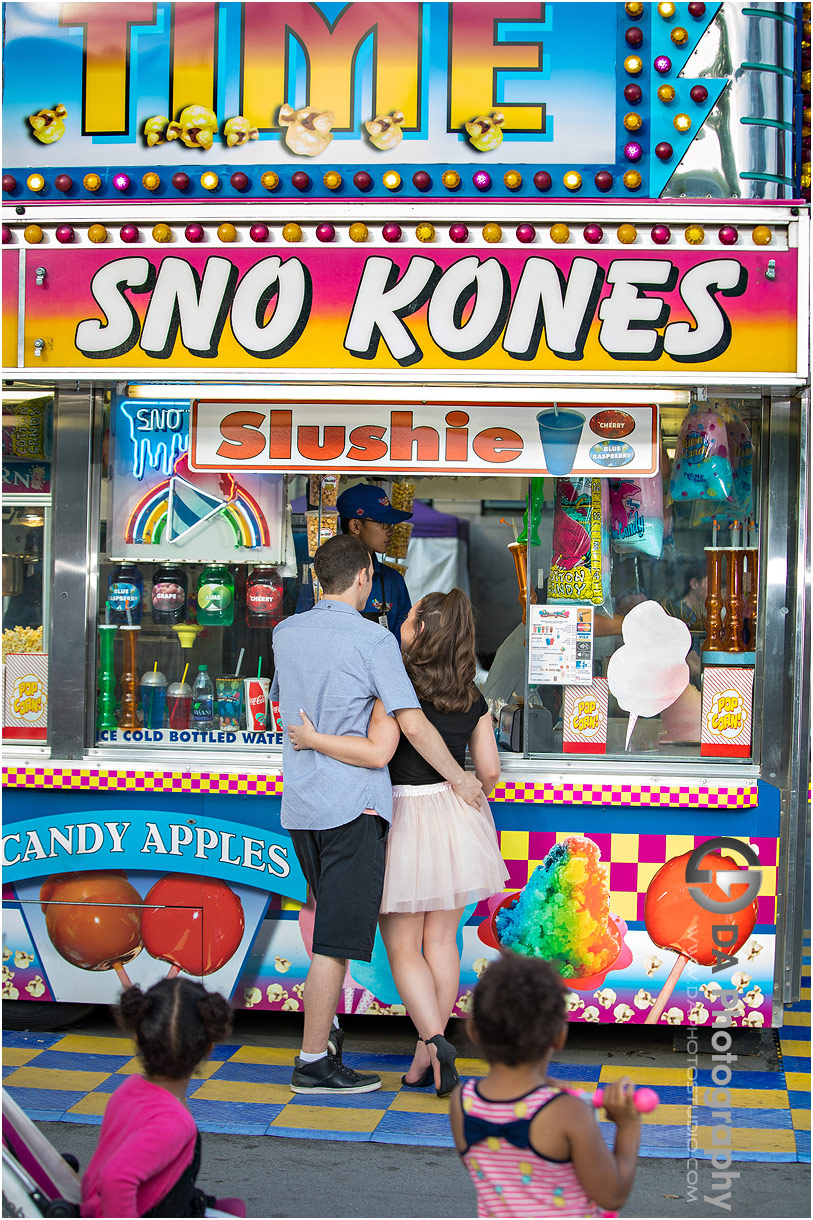 Engagement Photographers for CNE