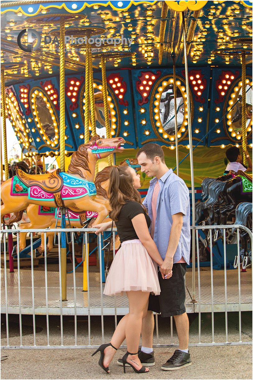 Engagement Pictures at CNE in Toronto