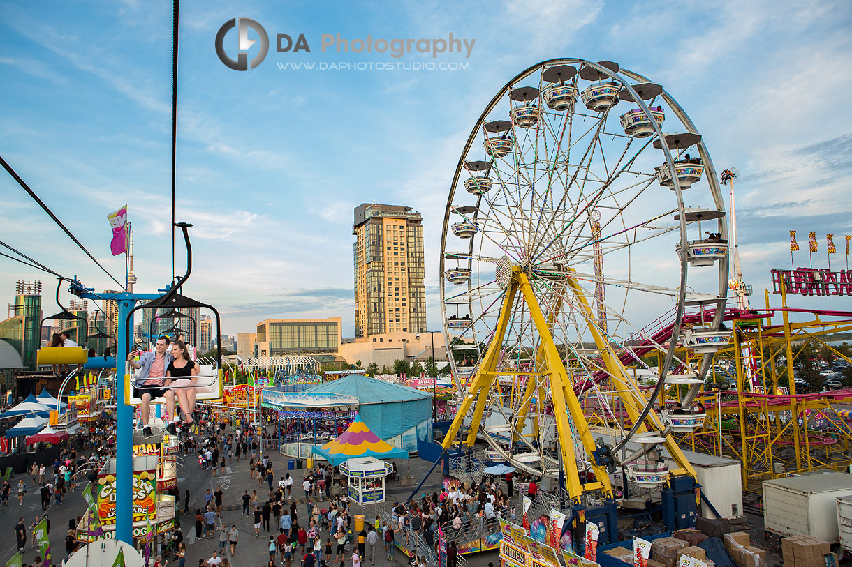 Engagements at CNE in Toronto