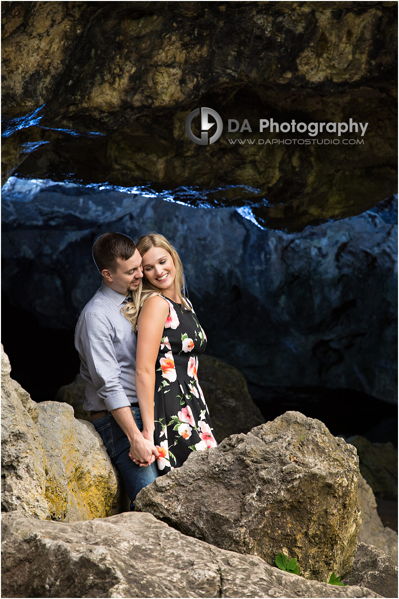 Engagement Photography at Rockwood Conservation Area