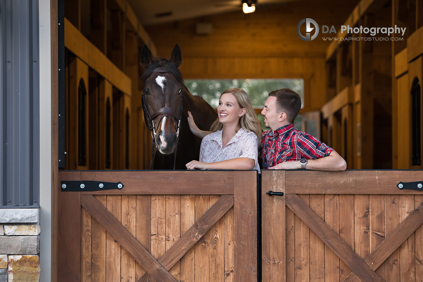 Horse Stable Engagement Photographers