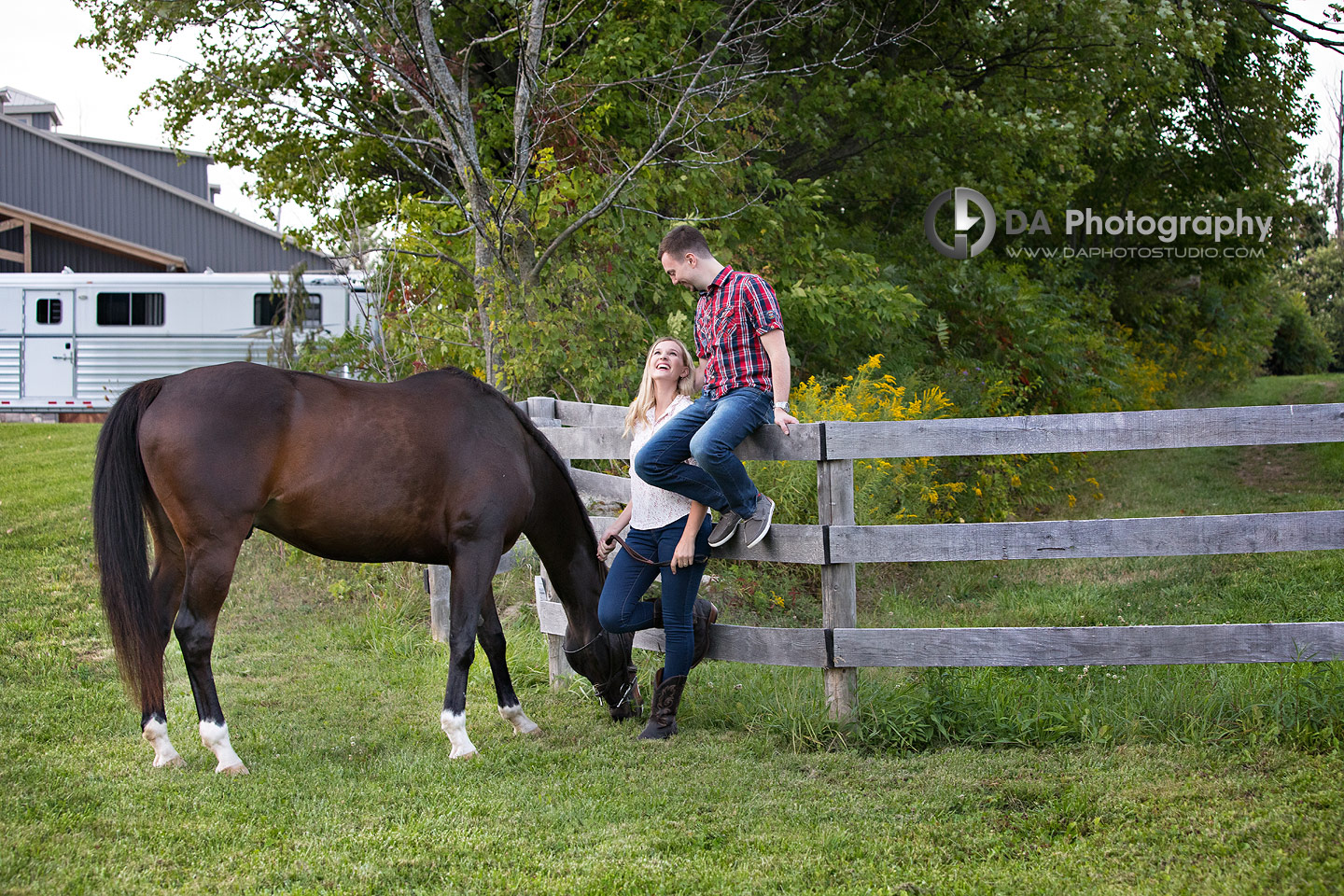 Horse Stable Engagement
