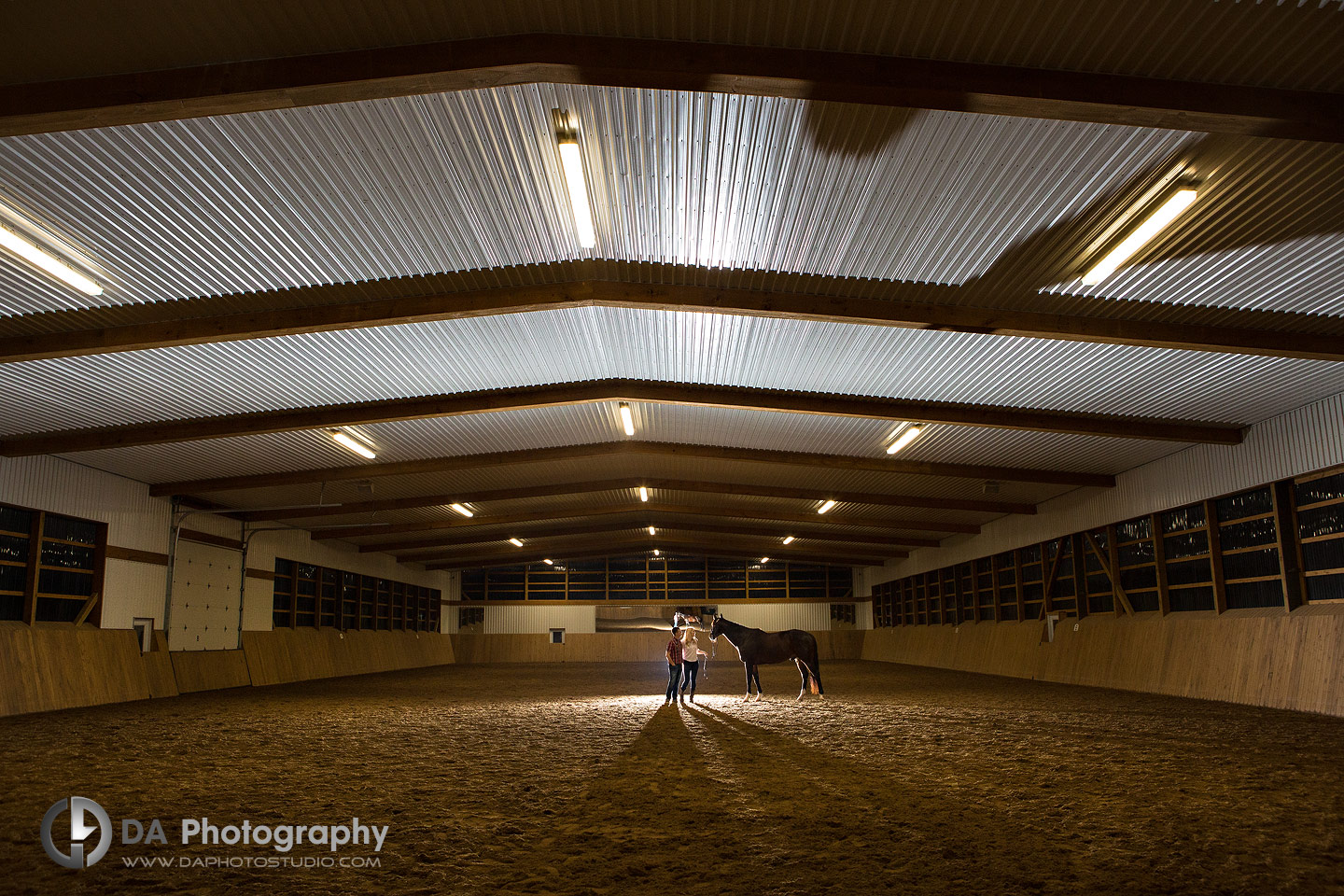 Engagement at Horse Stable in Milton