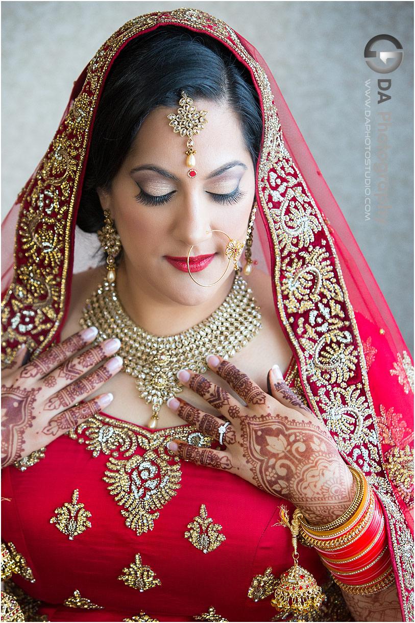 Brides at Traditional Indian wedding