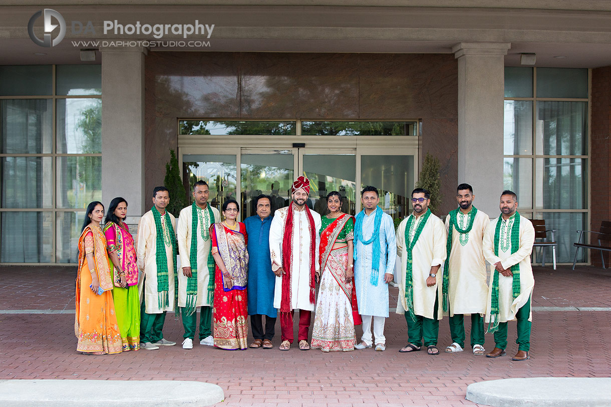 Photographs of Traditional Indian wedding in Mississauga