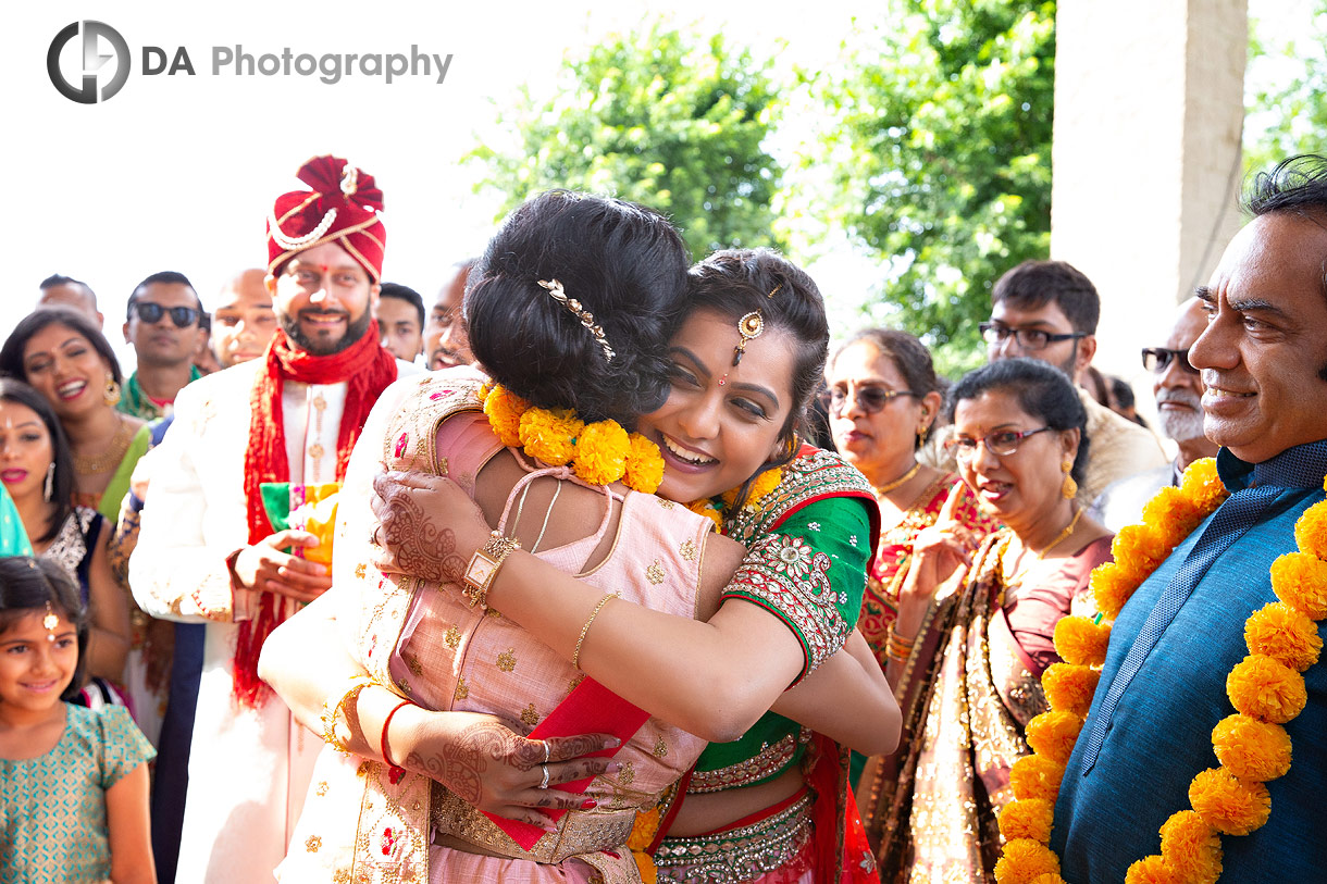 Photos at Traditional Indian wedding in Mississauga