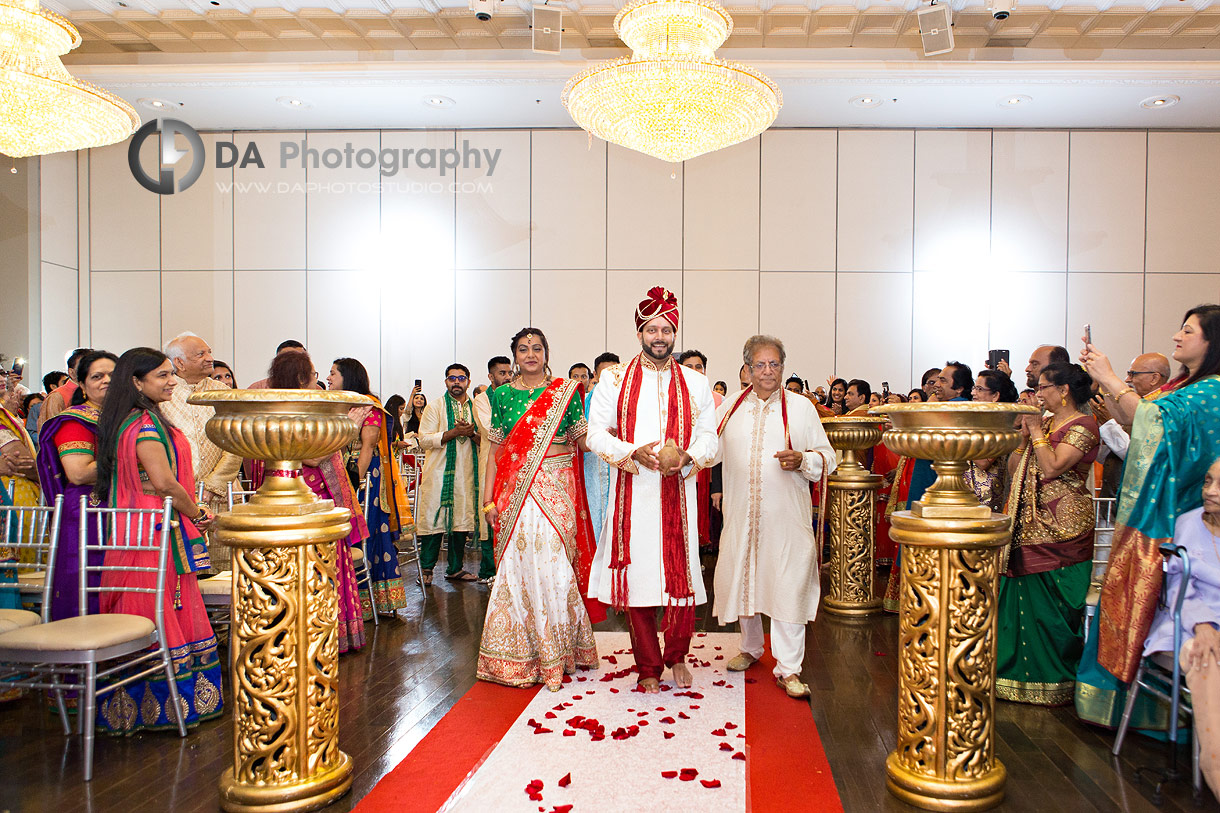 Wedding Ceremony at Versailles Convention Centre