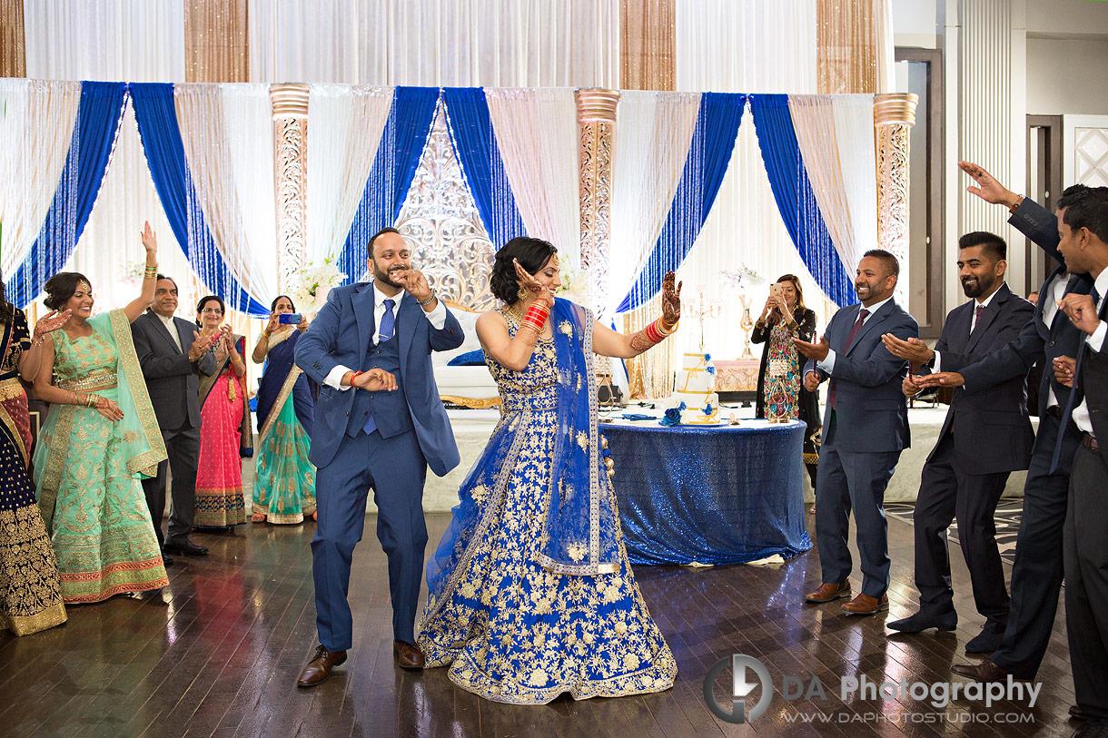 Traditional Indian Wedding Reception