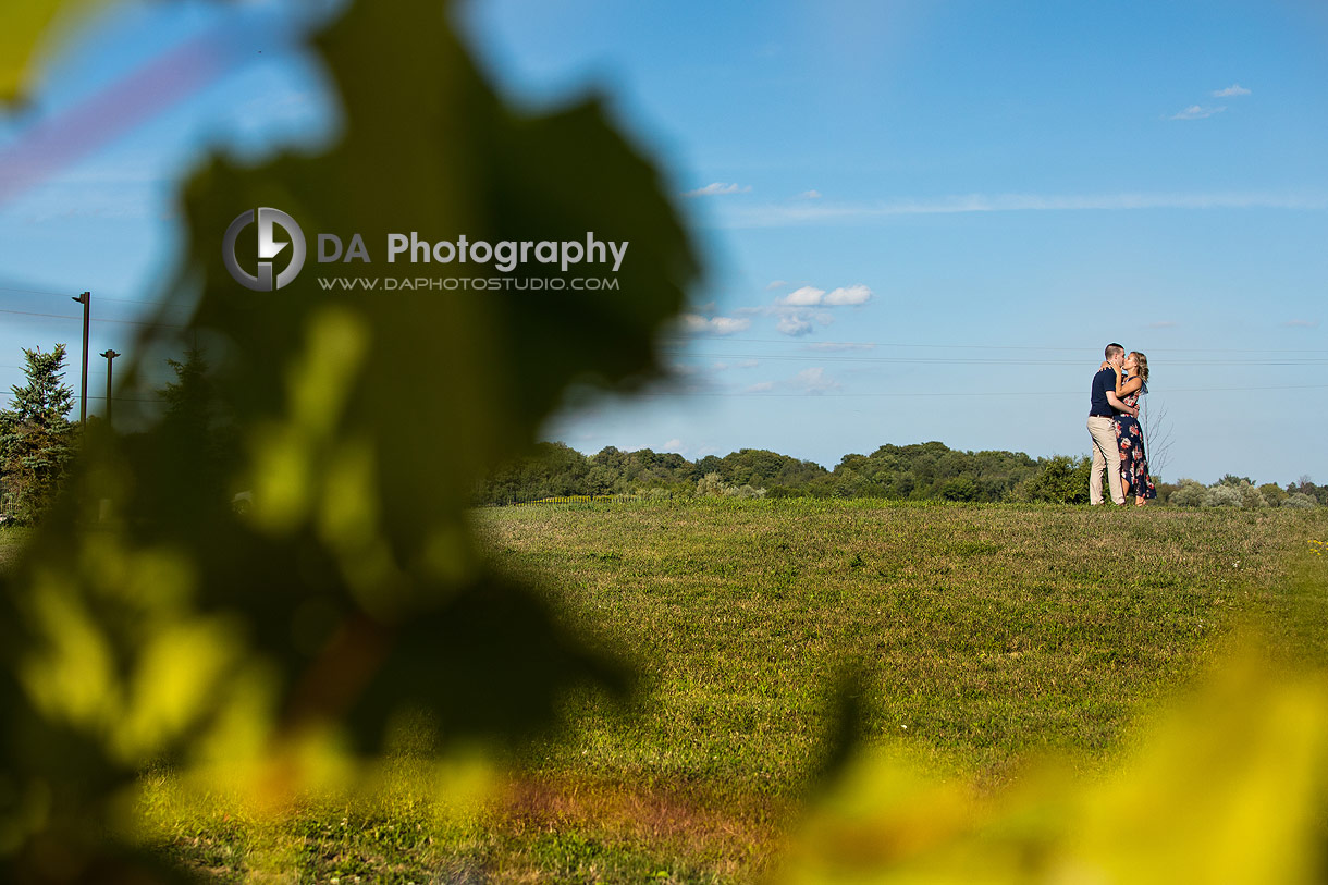Gallucci Winery Engagement Photographer