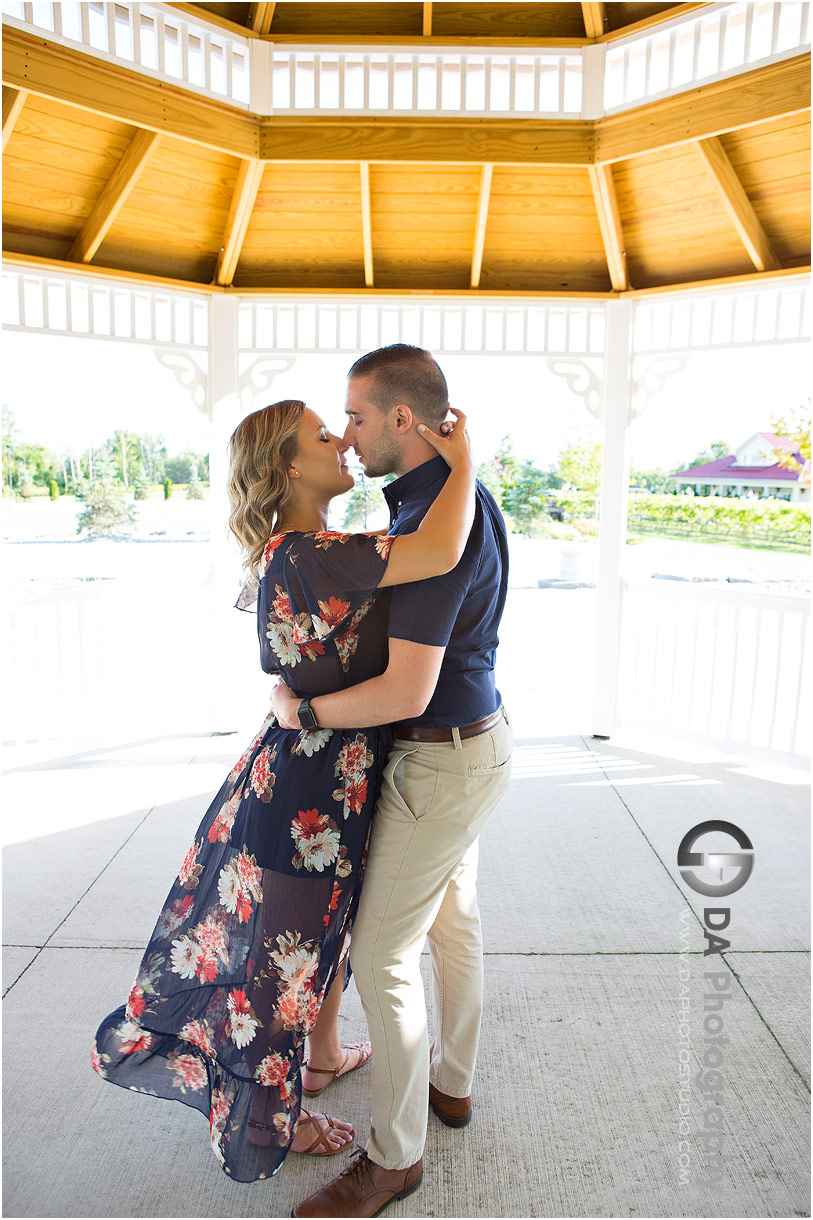 Gallucci Winery Engagement Photo