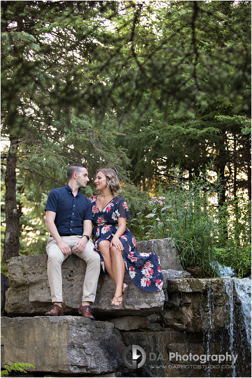 Timber Creek Golf Engagement Photographer
