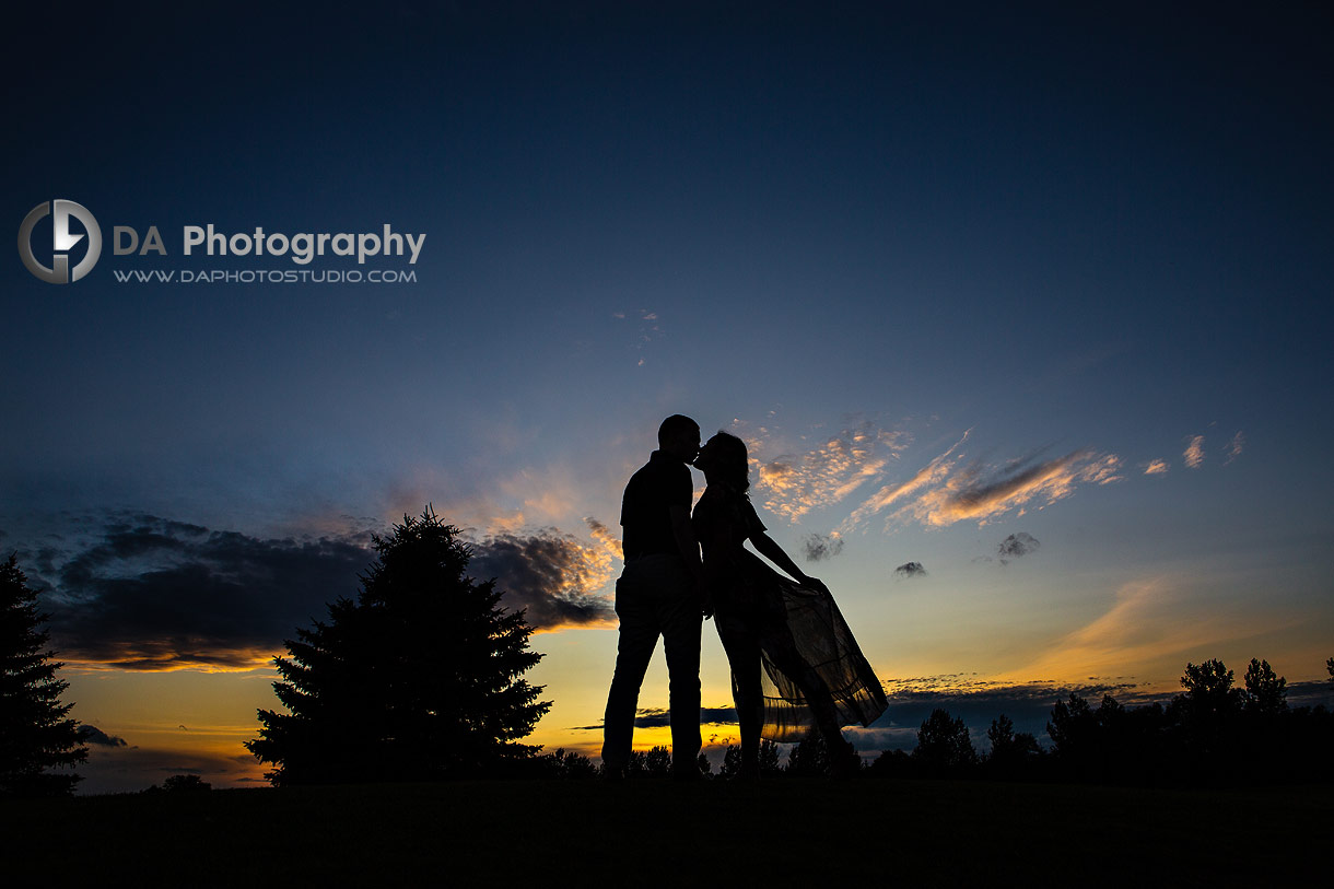 Best Engagement Photos at Timber Creek Golf in Whitchurch-Stouffville